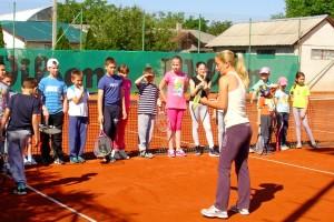 Krenula besplatna škola tenisa za decu Novog Sada