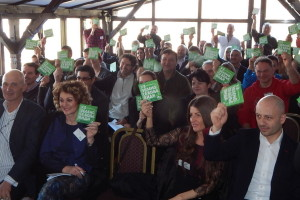 Skupština Zelene stranke i dvodnevna priprema za izbore