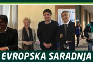 Zelena Evropa – saradnja Zelene stranke sa italijanskim Zelenim kolegama