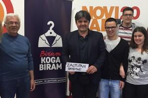 Mr Goran Čabradi – narodni, a ne partijski poslanik