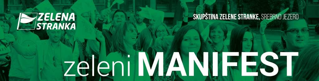Zelena stranka - Zeleni manifest