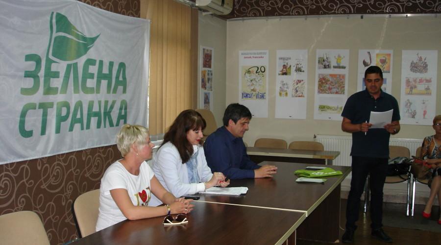 Osnivanje Gradskog odbora Zelene Stranke u Zrenjaninu - 4