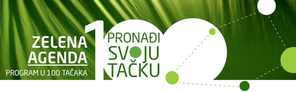 Zelena stranka - Agenda u 100 tačaka