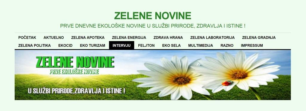Intervju Zelene novine