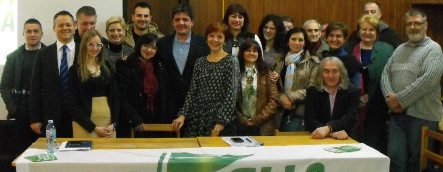 Zelena stranka u širenju zelenih ideja