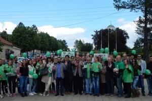 Aktivisti Zelene stranke u poseti Lazarevcu i Beogradu