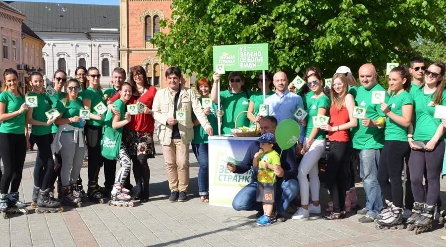 Zelena stranka u izbornoj kampanji (1)