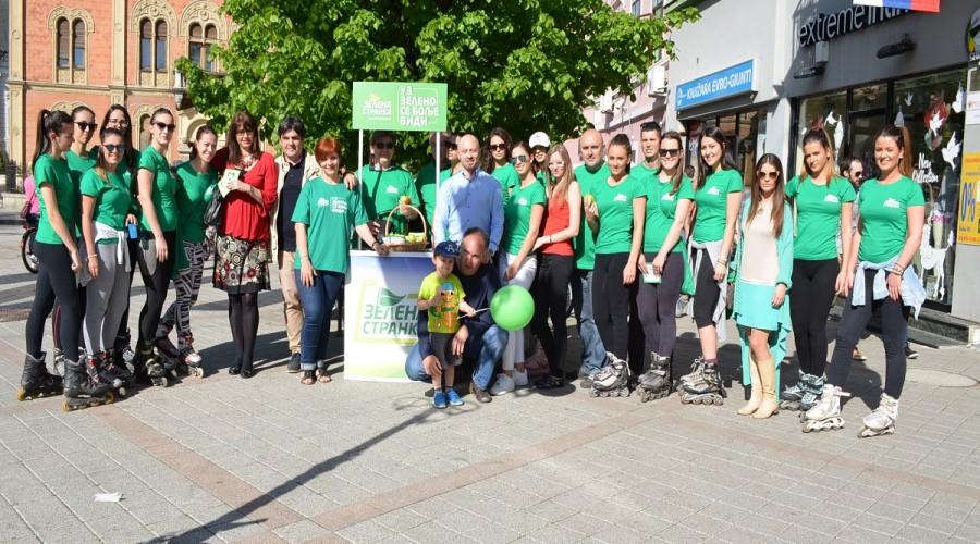 Zelena stranka u izbornoj kampanji (7)
