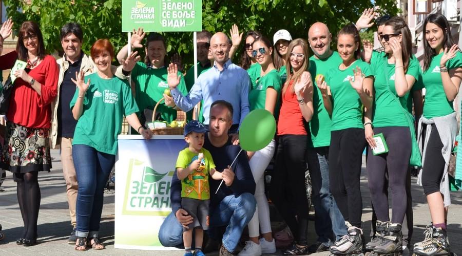 Zelena stranka u izbornoj kampanji (8)