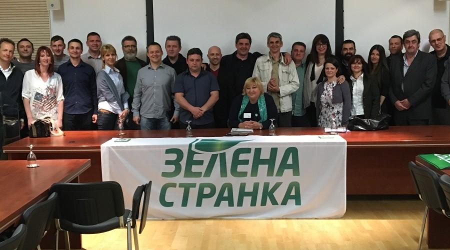 Sastanak Predsedništva sa izabranim poslanicima i odbornicima Zelene stranke