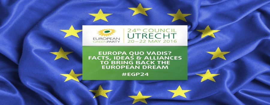 Zelena stranka na prolećnom zasedanju European Green Party