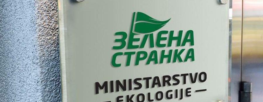 Zelena stranka - Ministarstvo za zaštitu životne sredine