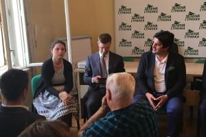Evropski zeleni u poseti Zelenoj stranci