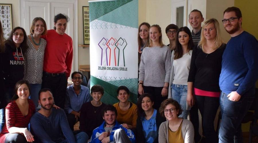 "Saradnja zelenih omladinaca Evrope – seminar ""Moving Bridges"""