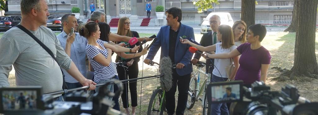 Konsultacije kod predsednika Srbije