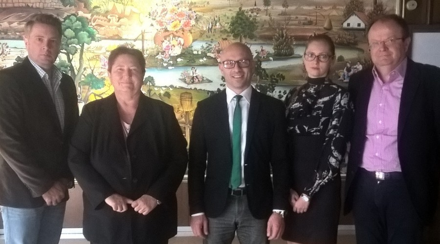 Zelena stranka na sastanku sa ambasadorkom Slovačke