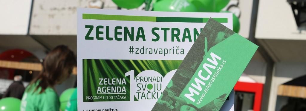 Srbija u zelenom naslovna