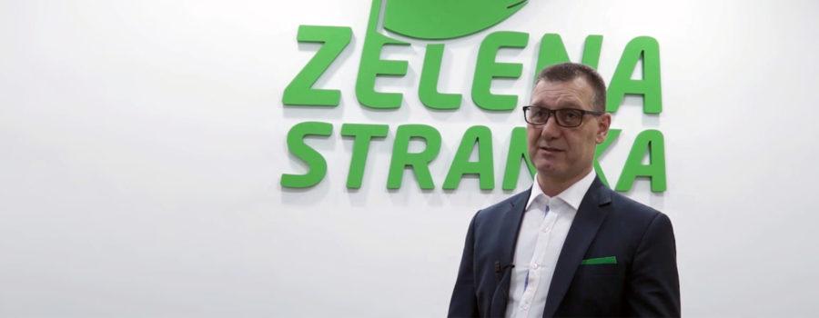 Zelena stranka - Sasa Mihajlović - Dok se čeka na metro, mi nudimo rešenje