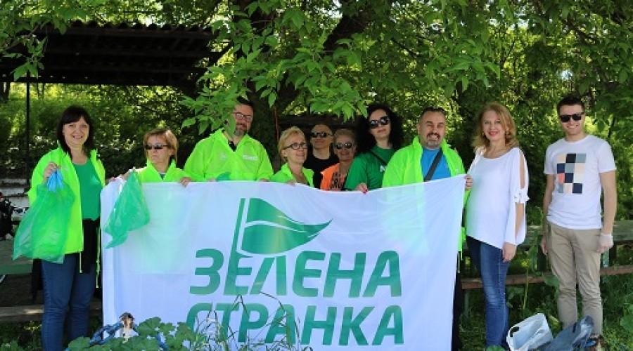 Zelena stranka u akciji čišćenja (1)