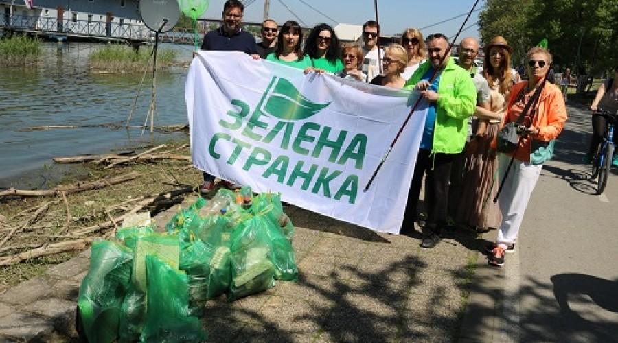 Zelena stranka u akciji čišćenja (9)