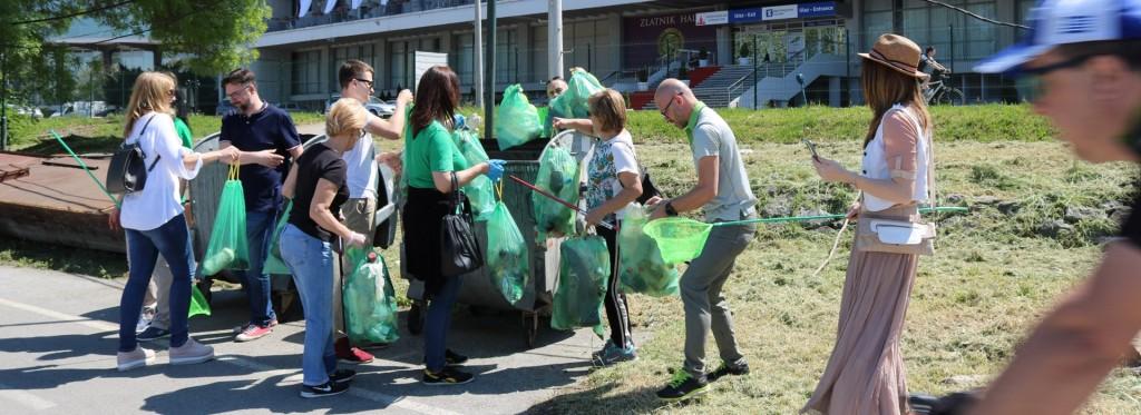 Zelena stranka u akciji čišćenja - naslovna