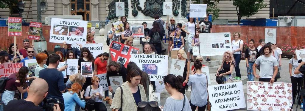 Marš protiv krzna - naslovna