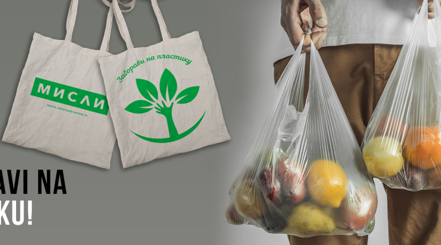 Zelena stranka poklanja 15 000 platnenih vreća za namirnice!