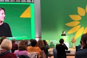 Zelena stranka na Kongresu evropskih Zelenih u Berlinu