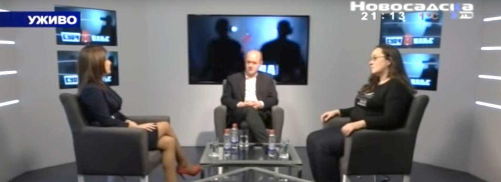 Novosadska TV, Suočavanje