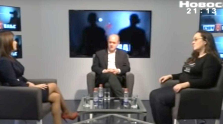 Novosadska TV / Suočavanje, 28.11.2018. – odbornica Zelene stranke, Ivana Vujasin, o aktivnostima Zelene stranke