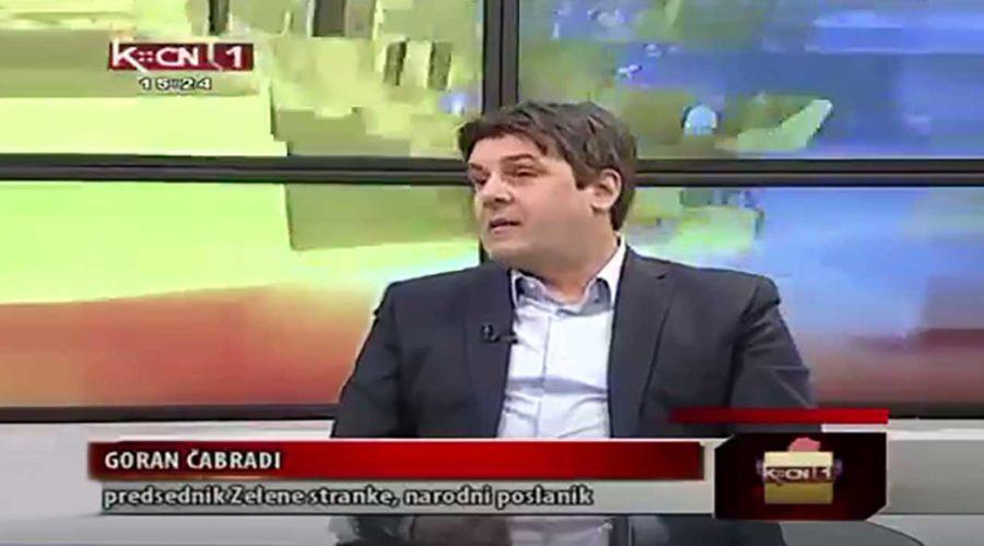 TV Kopernikus / Srbija online: Predsednik Zelene stranke o potrebi legalizacije kanabisa u medicinske svrhe