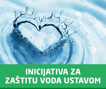 Inicijativa za zaštitu voda Ustavom