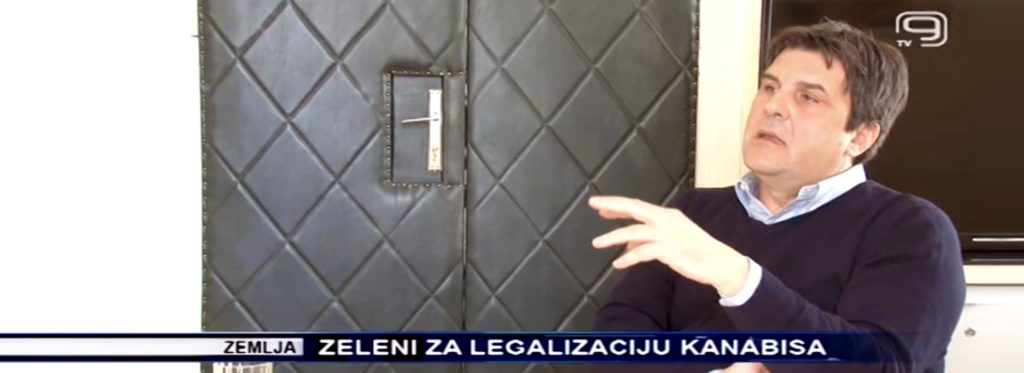 Zelena stranka - Goran Čabradi - Kanal9-Zeleni za legalizaciju kanabisa