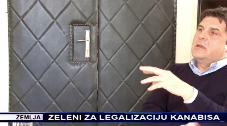 TV Kanal 9: Predsednik Zelene stranke o legalizaciji kanabisa u medicinske svrhe