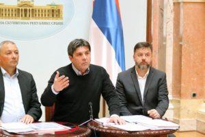 Vode u Ustav Srbije