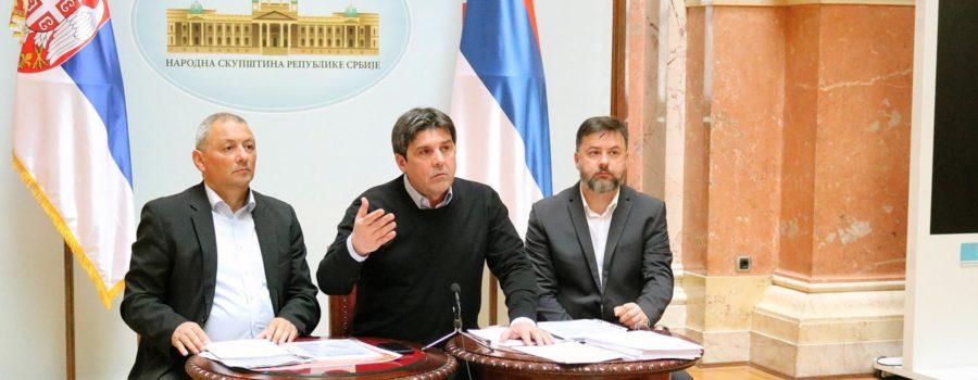 Zelena stranka - Prvi put vode u Ustavu Srbije