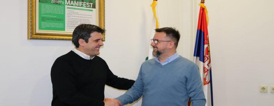 Aleksandar Božić – novi poverenik Zelene stranke za Grad Beograd