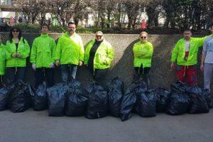 Građani Čukarice čistili smeće sa Zelenim brigadama