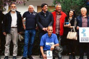 Predsednik Zelene stranke sa borcima za odbranu reka Srbije
