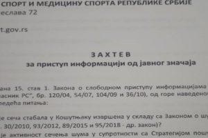 Zelena stranka traži od nadležnih dokaze o opravdanosti seče stabala u Košutnjaku
