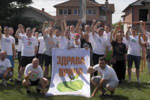 Zeleni uredili dečije igralište u Paraćinu