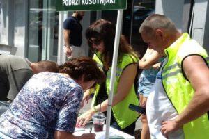 Građani uz Zelenu stranku u borbi za zaštitu Košutnjaka