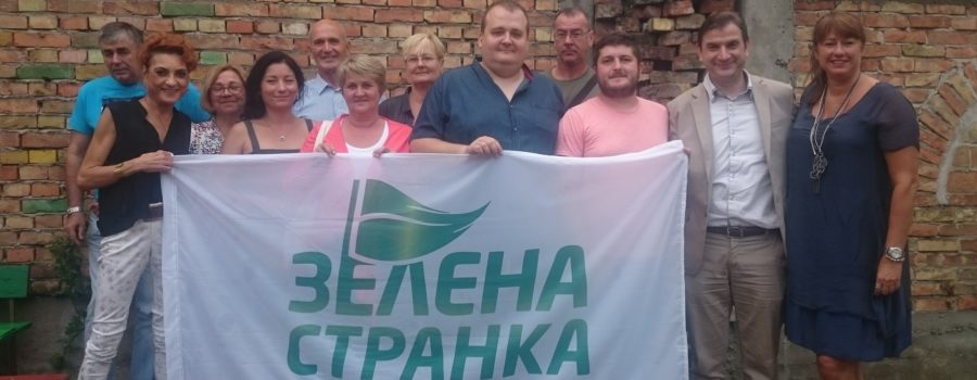 Izabrano novo rukovodstvo zrenjaninskog odbora Zelene stranke