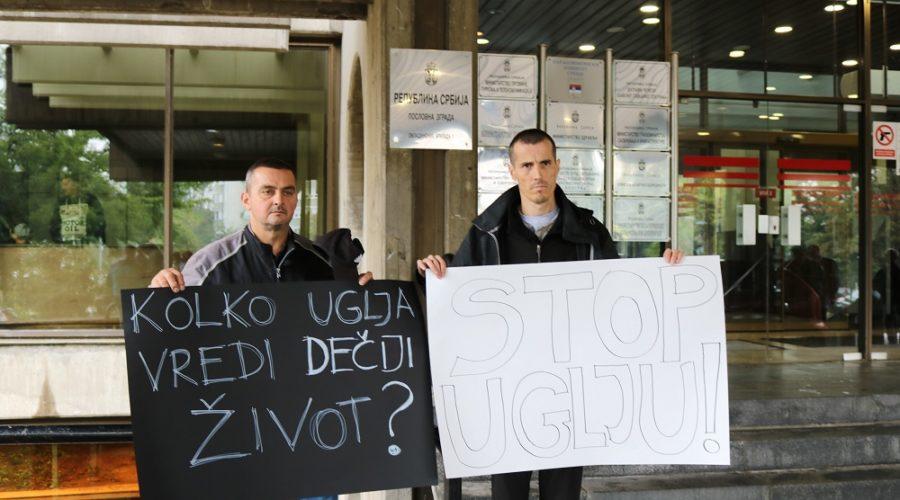 Kolubara protest (2)