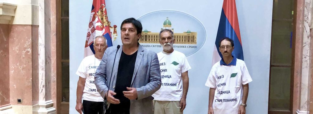 Konferencija za novinare narodnog poslanika Gorana Čabradija 17. 09. 2019