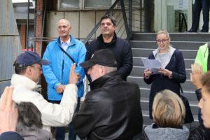 Osnovan još jedan odbor Zelene stranke – na stepeništu ispred Opštine!