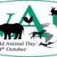 4. oktobar – Svetski dan zaštite životinja
