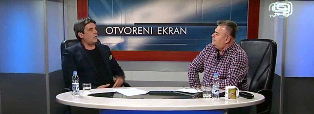 TV Kanal 9 - Otvoreni ekran - Gostovanje predsednika Zelene stranke