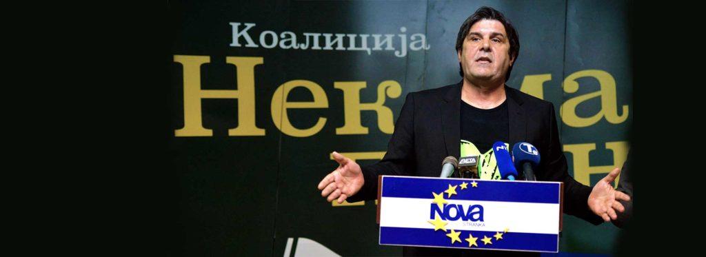 """""""Nek maske padnu"""" - koalicija Zelene i Nove stranke"""